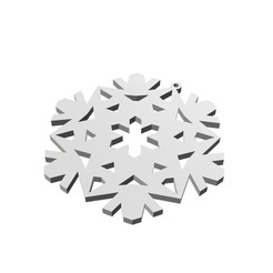 3D file Christmas Snowflake Ornament_2, eMBe85