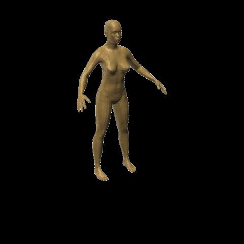 3D printer models Women model, eMBe85
