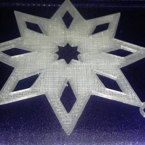 Download STL file Star Ornament • 3D printable object, eMBe85
