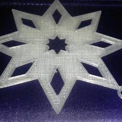 Download 3D printer files Star Ornament, eMBe85