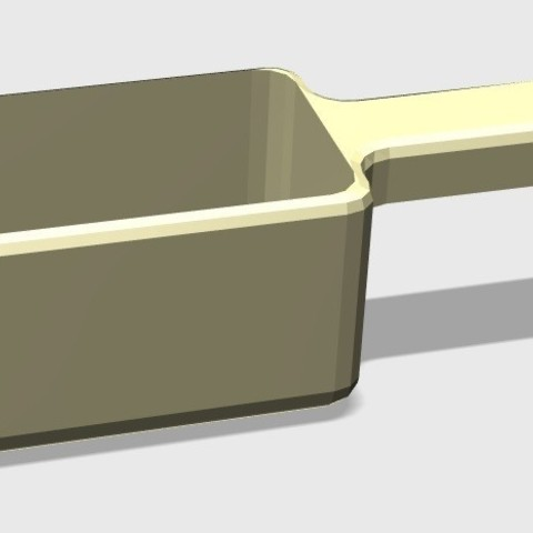 Download STL file Scoop into the kitchen • 3D printing object, eMBe85