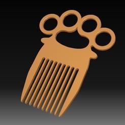 1.jpg Télécharger fichier STL Knuckle-Duster / Comb • Modèle pour imprimante 3D, eMBe85