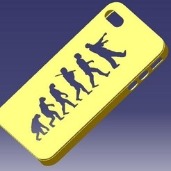 stl files iPhone 4S Evolution Case, eMBe85