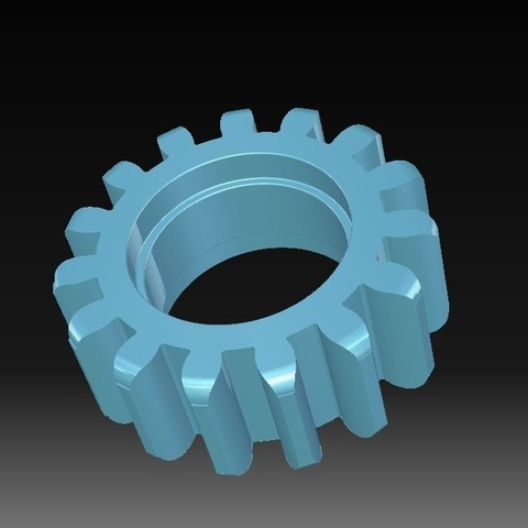 Download STL file Toothed wheel • 3D printing template, eMBe85