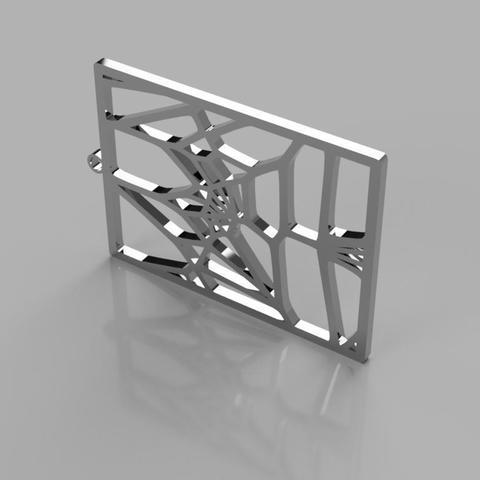 Voronoi Earrings_v3 STL file, eMBe85