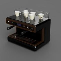 Download STL file Coffee machine • 3D printer model, eMBe85