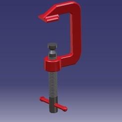 Obejma.jpg Télécharger fichier STL Vice / Clamp • Modèle à imprimer en 3D, eMBe85