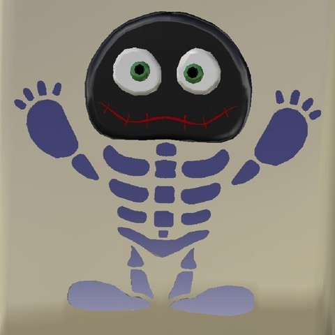 2.jpg Download STL file iPhone 6s Skeletor Case • 3D printing object, eMBe85