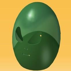 STL Easter Aliens Egg, eMBe85