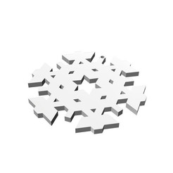 Download 3D model Christmas Snowflake Ornament_3, eMBe85