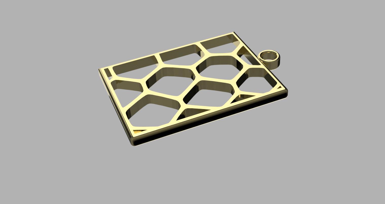 Voronoi Earrings v1.jpg Download STL file Voronoi Earrings • 3D printing design, eMBe85
