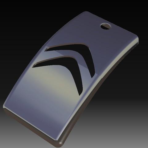 Download STL file Citroen Keychain • 3D printable design, eMBe85