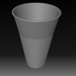 Download 3D printing files Plastic Cup, eMBe85