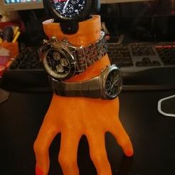 Download STL Samsung S3 Watch Holder, lemath