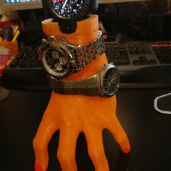 Imprimir en 3D Porta reloj Samsung S3, lemath