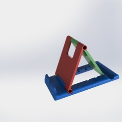 Download free 3D printer designs Holder for tablet, Delacc
