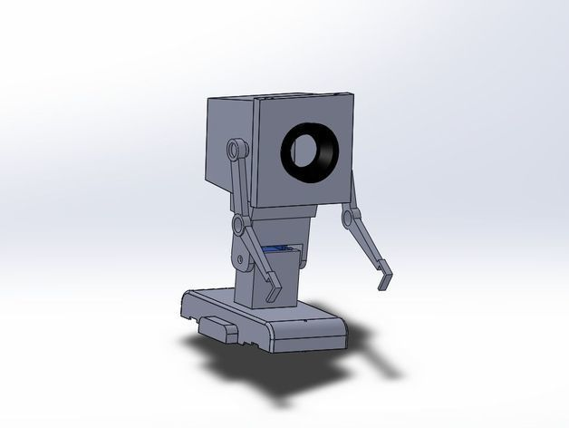 78cacb22f8e40ee3f1ba4a6e0307d1d8_preview_featured.jpg Download free STL file Pass the butter robot from Rick and Morty • Object to 3D print, ESDEV