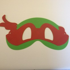 Télécharger modèle 3D Ninja Turtle masks / Masques tortues ninja, woody3d974