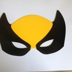 3D print model Wolverine mask / Masque Wolverine, woody3d974