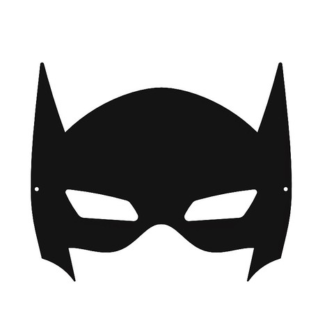 Stl batman mask masque batman cults for Batman face mask template