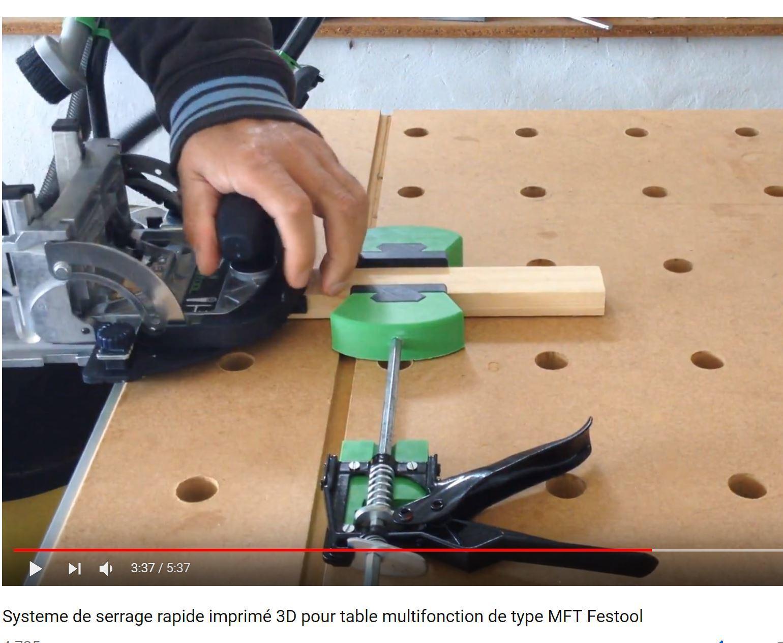 5.JPG Télécharger fichier STL Système de serrage rapide pour table multifonction de type MFT Festool • Objet imprimable en 3D, woody3d974