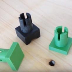 Descargar diseños 3D gratis bajo perfil perro banco de perfil bajo MFT / axial para mesa multifuncional, woody3d974