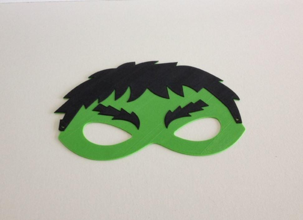 Hulk.JPG Download free STL file Hulk mask / Masque Hulk • 3D printer template, woody3d974