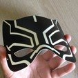 IMG_4015.JPG Download STL file Black Panther mask / Masque la Panthère Noire • 3D printing object, woody3d974