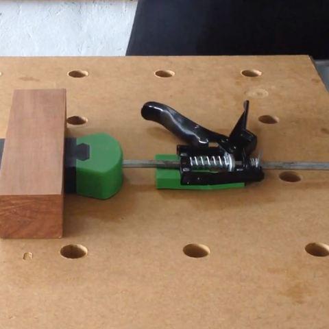 2.JPG Télécharger fichier STL Système de serrage rapide pour table multifonction de type MFT Festool • Objet imprimable en 3D, woody3d974