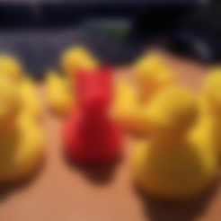 Download free 3D printer designs Hell Ducky, ykratter