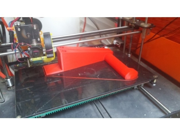 bfa5ee61fbc4185f5db1f8e818a392cb_preview_featured.jpg Download free STL file Simple Spool Holder • 3D printable template, ykratter