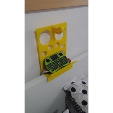 d6305e1665e45298dc79289eefeed428_preview_featured.jpg Download free STL file BedShelveCheese • 3D printer template, ykratter
