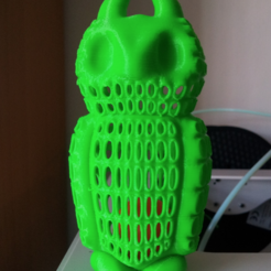 Free 3d printer model Owl keychain (and more Owls), ykratter