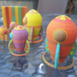 Free 3d printer designs 8 Color Rocket, ykratter