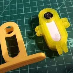 20200621_001945.jpg Télécharger fichier STL gratuit Supports TPU Insta360Go woop • Objet pour impression 3D, ykratter