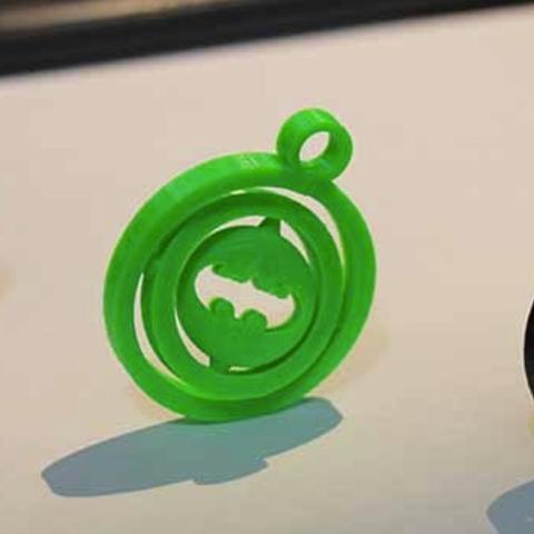 GimbleBatMan.PNG Télécharger fichier STL gratuit Porte-clés Gimble Batman • Plan pour impression 3D, ykratter