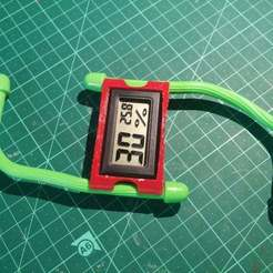 Free 3D printer files Thermometer thingie, ykratter