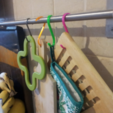 Download free STL file Ikea Hooks (GRUNDTAL?) • 3D printer template, ykratter