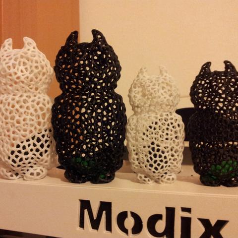 Free 3d print files Voronoi Owl, ykratter