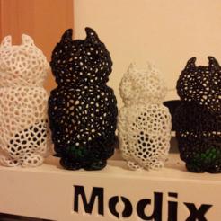 Archivos 3D gratis búho de Voronoi, ykratter