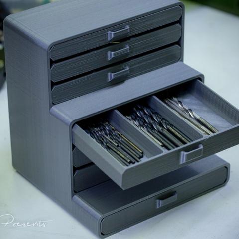 Descargar modelos 3D gratis Soporte DrillBit, SWANGLEI