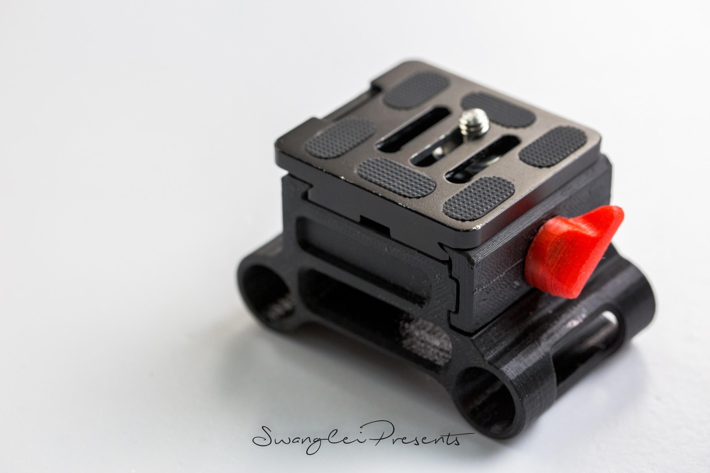 格式工厂831A2585.jpg Download free STL file 3D print shoulder rig V2.0 • 3D printer design, SWANGLEI
