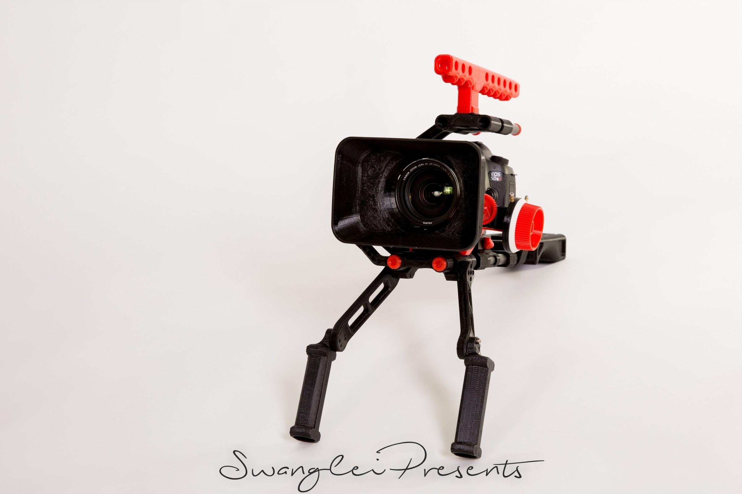格式工厂_W4A9887.jpg Download free STL file 3D print shoulder rig V2.0 • 3D printer design, SWANGLEI