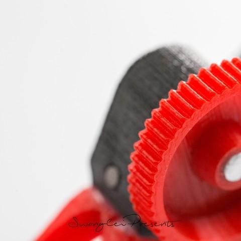 格式工厂831A2580.jpg Download STL file 3D_Print_Follow_Focus_V2.0 • 3D printable template, SWANGLEI