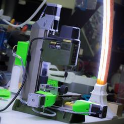 Download free 3D printer designs Crazy Proxxon CNC, SWANGLEI