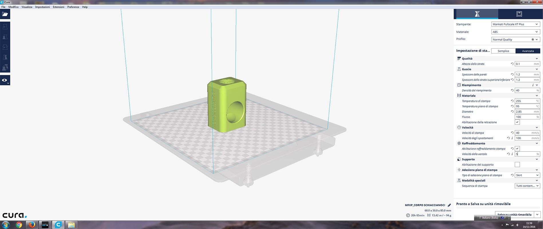 SCREEN-CURA.jpg Télécharger fichier STL gratuit CASSE NOISETTE • Plan imprimable en 3D, bersandro
