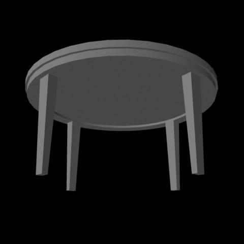Mesa-redonda2.jpg Télécharger fichier OBJ gratuit Table ronde • Modèle pour impression 3D, Superer012