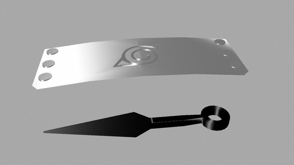 naruto1.jpg Télécharger fichier OBJ gratuit bande Konoha, • Design imprimable en 3D, Superer012
