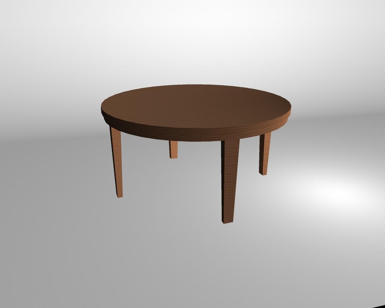 Mesa-redonda.jpg Download free OBJ file Round table • 3D printing template, Superer012