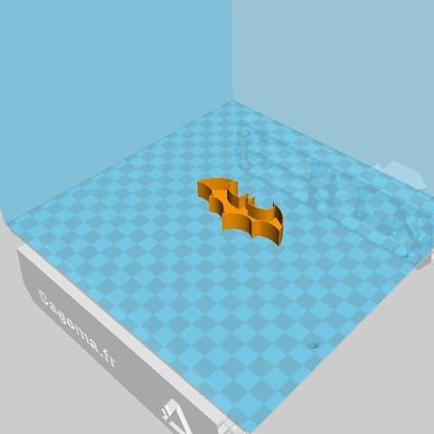 Télécharger modèle 3D gratuit Emporte pièce batman, lasef